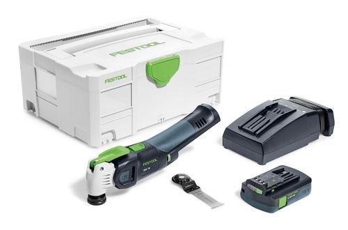 Festool Akku-Oszillierer OSC 18 Li 3,1 E-Compact VECTURO - 575385