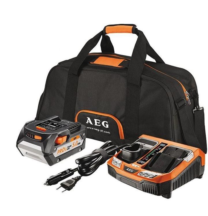 AEG Elektrowerkzeuge Accu starter set L1850R + BLK1218, SETL1850BLK - 4932451629