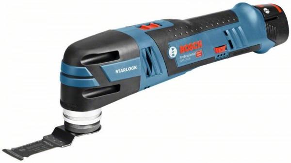 Bosch Professional Akku-Multi-Cutter GOP 12V-28, mit 2 x 3,0 Ah Li-Ion Akku, L-BOXX - 06018B5006