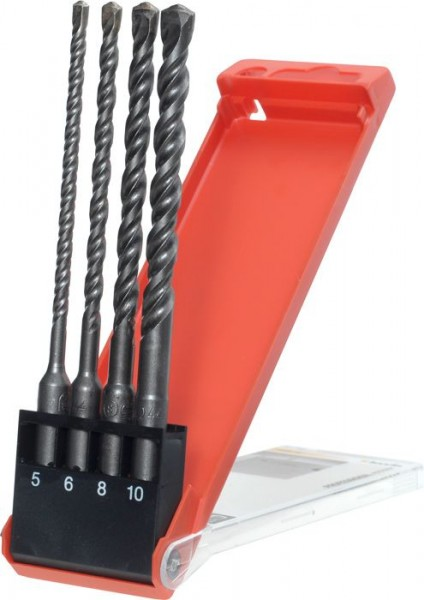 KWB HB 44 SDS-plus-hamerborensets, 4-delig, ø 5-10 mm - 240800