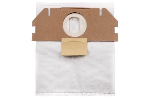 Metabo 5 Sacchetti filtranti in tessuto non tessuto, 7,5l - 630173000