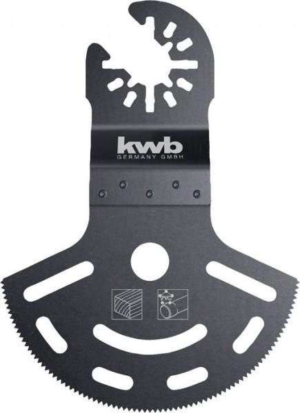 KWB Diep zagend invalzaagblad, halfrond, CV - 708550