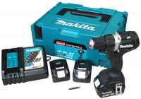 Makita Accuboormachine 18V/5Ahx3 accu's + oplader in Makpac - DDF484TB3J