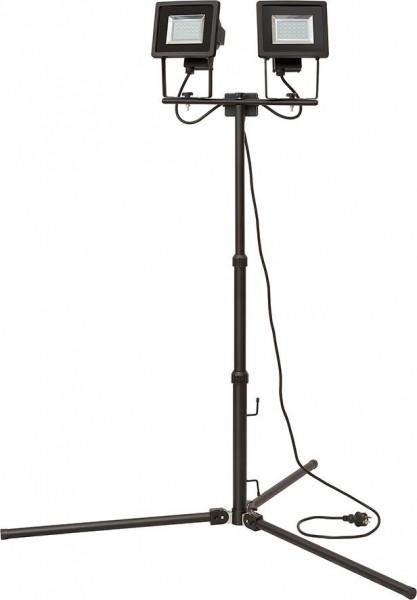 Brennenstuhl Stativ-SMD-LED-Doppelstrahler SL DN 2405 DUO IP44 2m 2x 24x 0,5W H05RN-F3G1,0