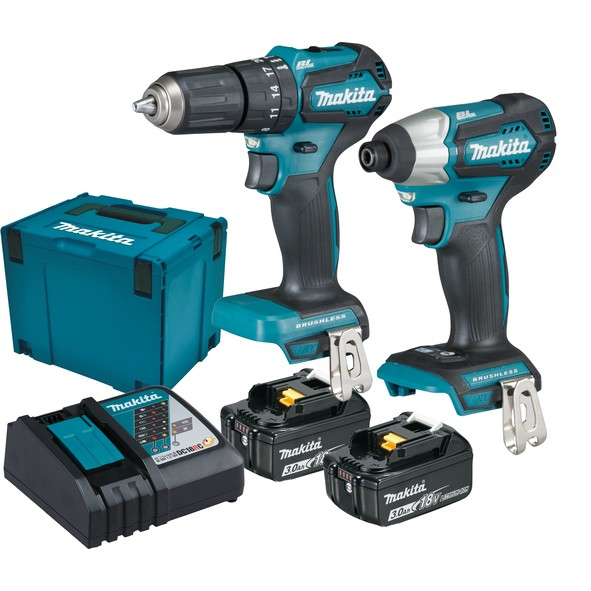 Makita Ensemble de 2 machines 18,0V - DLX2221JX2