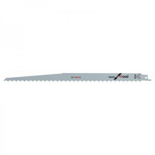 Bosch Lame de scie sabre S 1617 K Basic for Wood - 5 unités