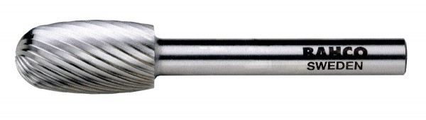 Bahco Fraise lime hss, ovale, moyenne, 62mm - hssg-e1222m
