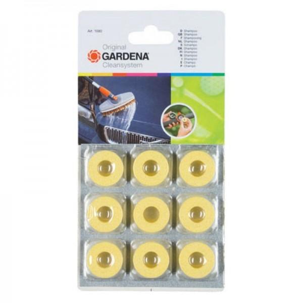Gardena Reiniger Shampoo Cleansystem - zur Lack- und Kunststoffreinigung - 9 Ringe
