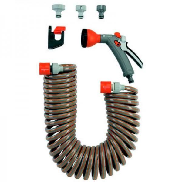 Gardena Set de manguera flexible en espiral, 10 m - 04647-20