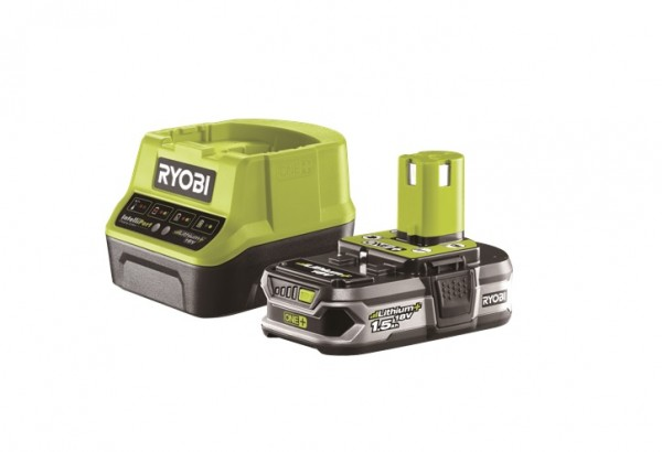 Ryobi 18 V Batterie + Chargeur rapide - RC18120-115