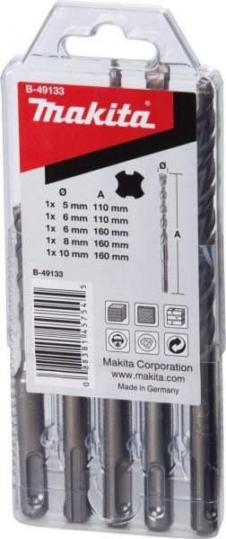 Makita SDS-VPLUS boren, 5-delig - B-49133