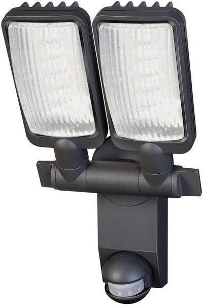 Brennenstuhl Sensor LED-lamp Duo Premium City LV5405 PIR IP44 met infrarood bewegingsmelder 54X0,5W 2160lm Energie efficiëntieklasse A