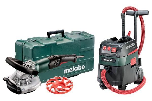 Metabo RSEV 19-125 RT + ASR 35 M ACP Set Machines op netvoeding in de set, Kunststof koffer - 691001000
