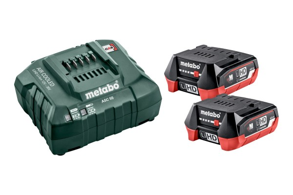 Metabo Basic-Set 12V, 2xLiHD 4,0 Ah - 685301000