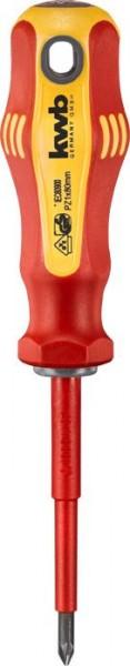 KWB VDE-schroevendraaier, geïsoleerd, PZ1, 80 mm - 663301