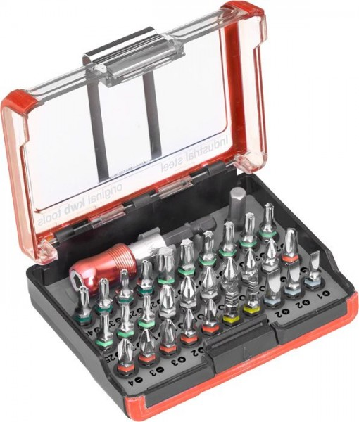 KWB INDUSTRIAL STEEL standard bitbox, 32-delig - 162710