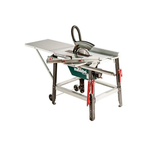 Metabo Tischkreissäge TKHS 315 M - 4,20 DNB Set, mit kugelgelagertem Schiebeschlitten, für Drehstrom, Karton - 690624000