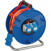 Brennenstuhl Garant CEE 2 IP44 kabelhaspel (camping kabelhaspel met 25m kabel, 2x CEE stopcontacten, CEE caravan kabelhaspel voor permanent buitengebruik,...