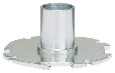 Bosch Kopierhülse für Bosch-Oberfräsen, mit Schnellverschluss, 16 mm