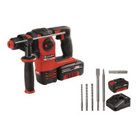 Einhell Marteau-perforateur sans fil HEROCCO Kit +5, 18V, 3Ah  - 4513975