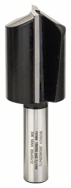 Bosch Nutfräser, 12 mm, D1 30 mm, L 40 mm, G 81 mm