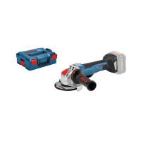 Bosch Smerigliatrice angolare a batteria con sistema X-LOCK GWX 18V-10 PC, L-BOXX, senza batteria e caricabatteria - 06017B0700