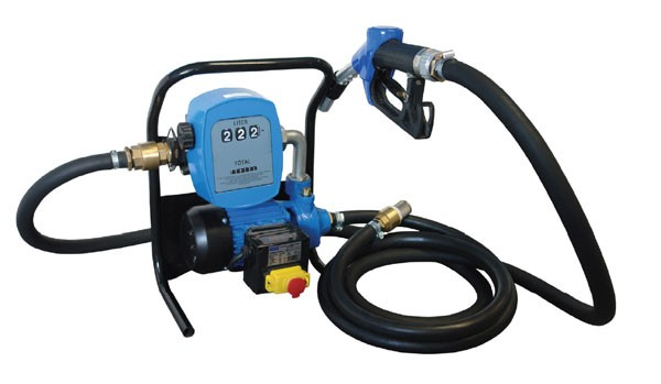 Güde Pompa diesel con contatore