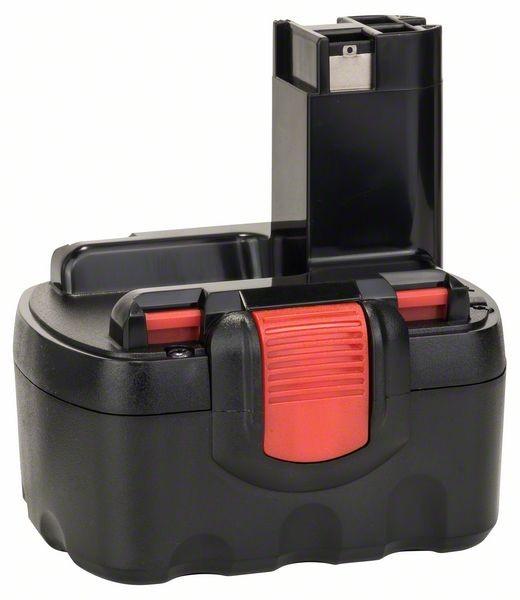 Bosch Batteria tonda da 14,4 V SD, 2 Ah, NiCd