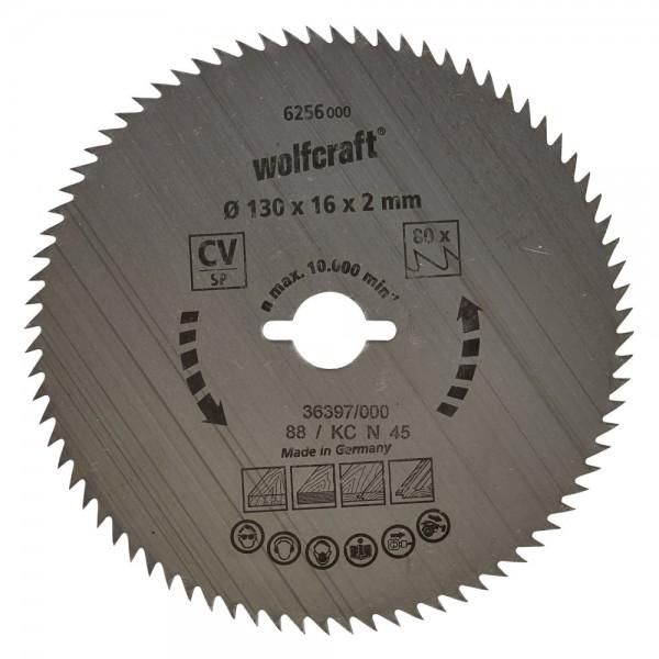 Wolfcraft lama per sega circolare CV, 64 denti
