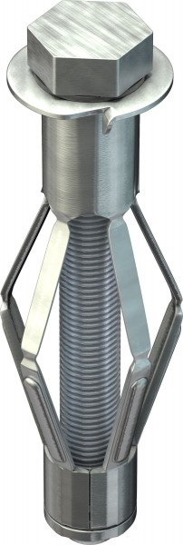 TOX Tassello in metallo per intercapedini Acrobat M8x68mm, 25 pezzi - 35101181