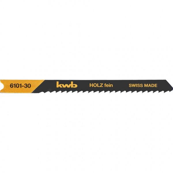 KWB Decoupeerzaagbladen, houtbewerking, speciale priktand, HCS-koolstofstaal, fijn - 610130