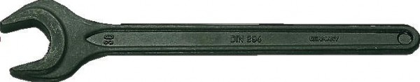Bahco CLÉ PLATE SIMPLE, BRUNIE, EN ANGLE 15°, 32MM - 894M-32
