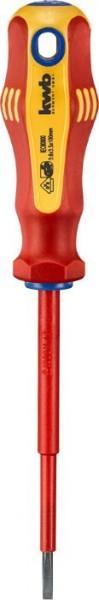 KWB VDE-schroevendraaier, geïsoleerd, 3.5 mm, 100 mm - 661336