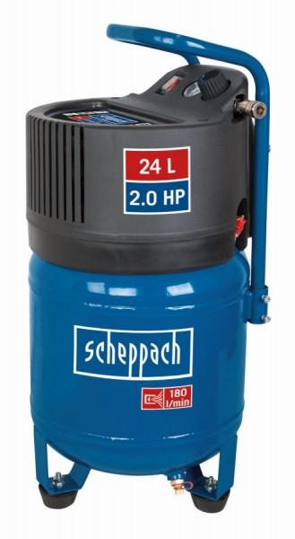 Scheppach HC24V Compressor 24 l, 10 bar, 1,5kW, olievrije - 5906117901