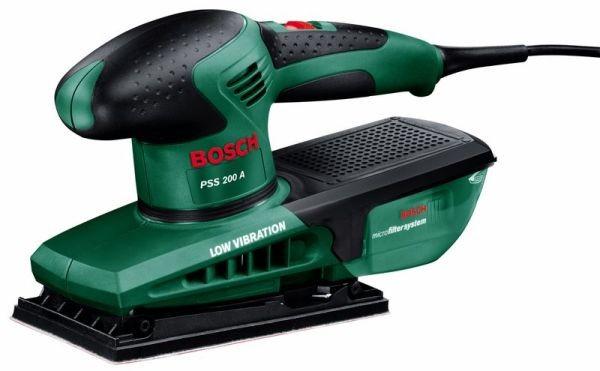 Bosch Vlakschuurmachines PSS 200 A - 0603340000
