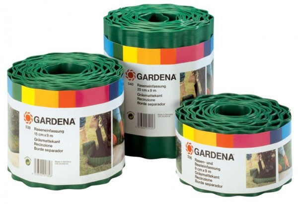 Gardena Gazonranden 20 cm x 9 m (Groen) - 00540-20