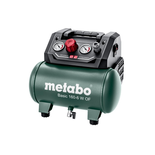 Metabo Kompressor Basic 160-6 W OF, Karton - 601501000