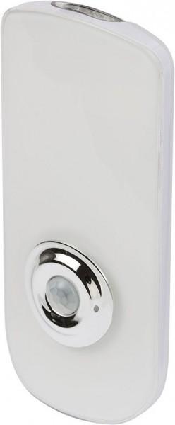 Brennenstuhl LED Sensor Sicherheitsleuchte SLA 16+2 B mit Infrarot-Bewegungsmelder 18 SMD LED 60lm, Akku, Taschenlampe
