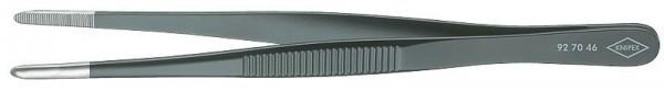 Knipex Brucelles de précision forme émoussée 145 mm - 92 70 46