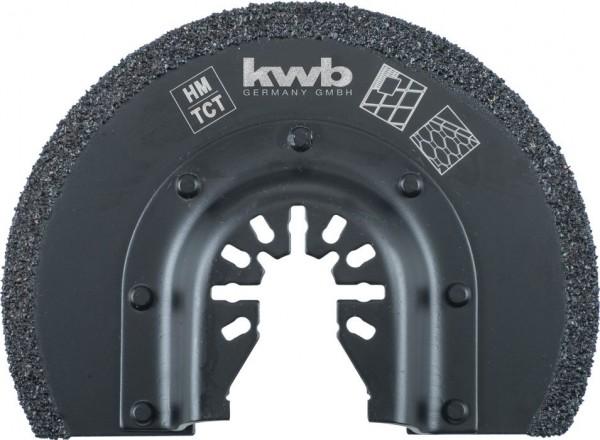 KWB Zaagblad, halfrond, HM - 709542