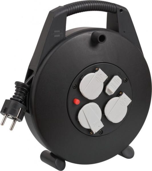 Brennenstuhl Vario Line Kabelbox 3-fach, USB-Ladefunktion, 10m Kabel - 1093200600