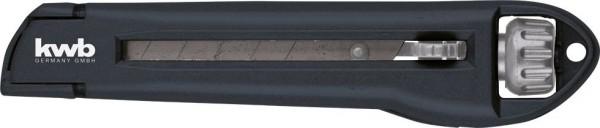 KWB Interlock afbreekmes met draaiknop, 18 mm - 015818
