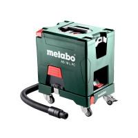 Metabo Accu-alleszuiger AS 18 L PC, 18V, 5.2Ah Li-Ion, Lader ASC 55, doos, met handmatige filterreiniging - 602021000