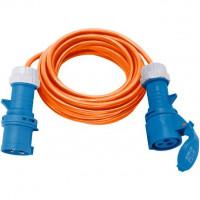 Brennenstuhl CEE- Verlengkabel 230V IP44 10m H07RN-F 3G2,5 oranje CEE 230V/16A stekker en koppeling - 1167650610