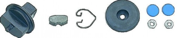 """Bahco ASSORTIMENT DE PIÈCES DE RECHANGE POUR CLIQUET 1/2 8110-1/2, 8 PCS - 8110-SO/1"""""""