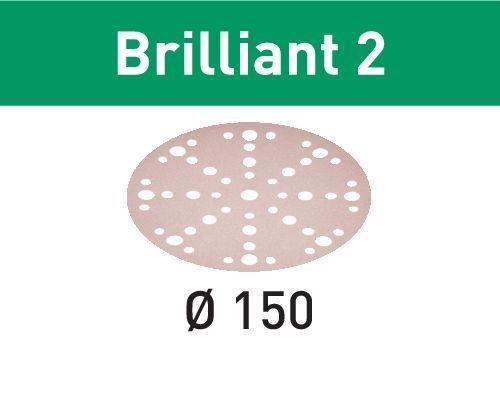 Festool Abrasifs STF D150/48 P60 BR2/10 Brilliant 2 - 575138