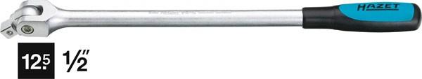 Hazet Gelenkgriff - Vierkant massiv 12,5 mm (1/2 Zoll) - Gesamtlänge: 396 mm - 914-15
