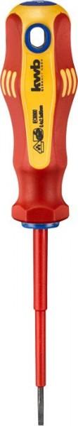KWB VDE-schroevendraaier, geïsoleerd, 2.5 mm, 80 mm - 661325