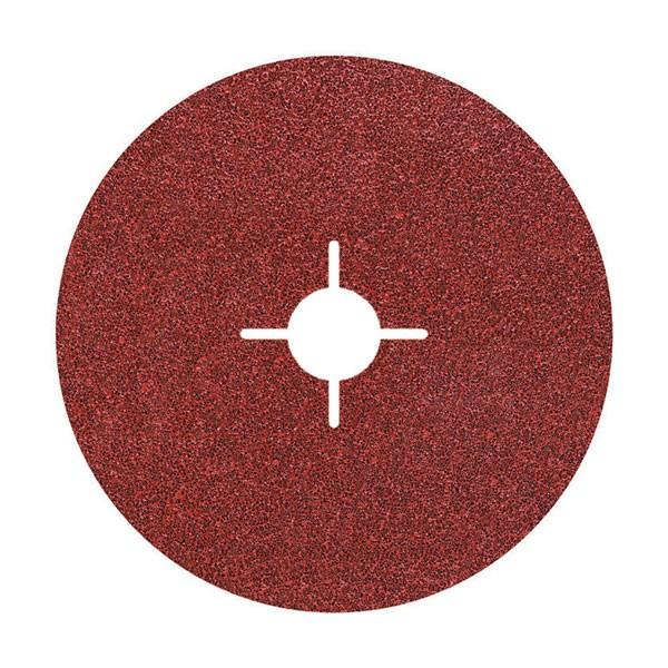Wolfcraft dischi in fibra, grana 24/40/60/100