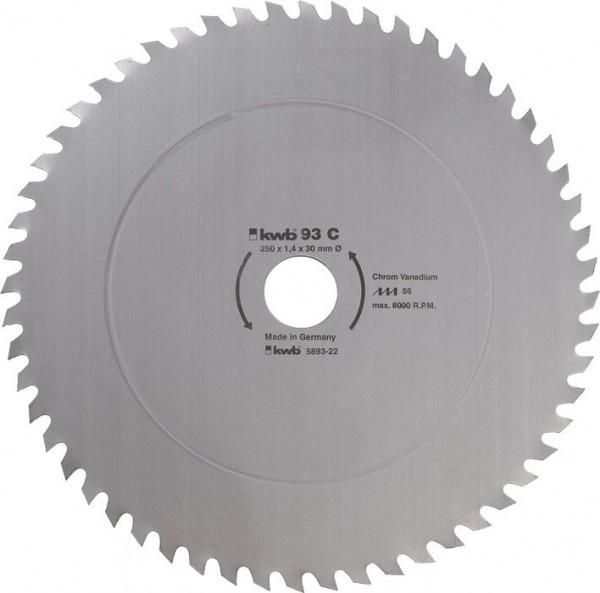 KWB Cirkelzaagblad voor de bouw en de tafel zagen ? 500 mm - 595122